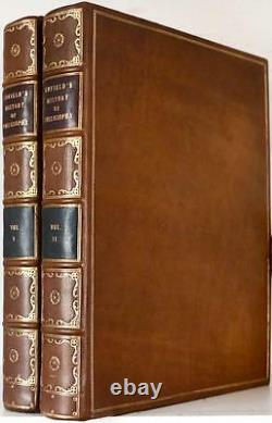 1791 1stED THE HISTORY OF PHILOSOPHY FROM EARLIEST TIMES FOLDOUT PLATE NEAR FINE