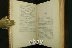 1929 History of King Arthur & His Noble Knights Fine Leather Color Plates Rare