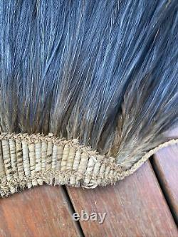 A Fine And Rare Old New Guinea Torres Strait Islander Feathered Head Dress