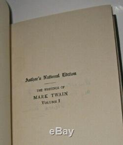 COMPLETE WORKS of MARK TWAIN! 25Vol(IN MINT+/FINE CONDITION!)RAREwithDUST JACKETS