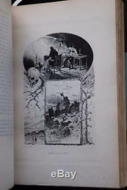 C. 1890 Tales and Poems of Edgar Allan Poe Fine Leather Bindings Limited Edition