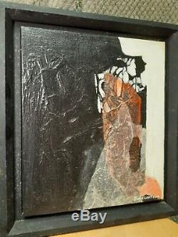 Carol Baumgartner Rare Fine Arts mid century Original Oil Painting On Canvas