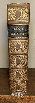 Charles Dickens Martin Chuzzlewit First Edition Fine Binding Rare 1844