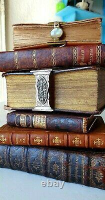 Collection old & rare Prayerbooks, Bibles in fine bindings, 18th & 19th c
