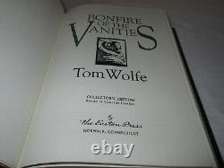 Easton Press BONFIRE OF THE VANITIES Tom Wolfe 2003 LEATHER FINE RARE Collectors