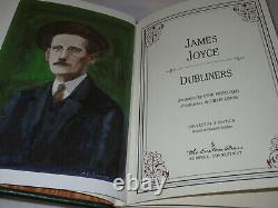 Easton Press DUBLINERS James Joyce FIRST EDITION 1996 LEATHER FINE RARE! Ulysses