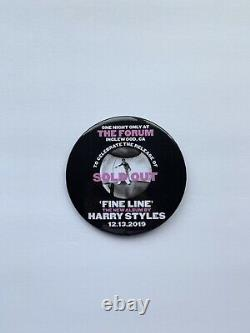 Harry Styles Fine Line One Night Only at the Forum Rare Button
