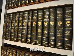 Harvard Classics + Shelf Of Fiction Collection Rare VERY FINE CONDITION