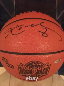 Kobe Bryant Signed NBA Official B2B Game Ball Autographed BOLD FINE INK RARE