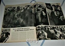 LIFE MAGAZINE 8/28/64 BEATLES rare NEWS STAND w FLAP in NEAR FINE CONDITION NM
