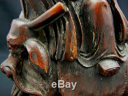 Ming Dynasty Fine Rare Set Antique Chinese 4 Immortals carved Bamboo
