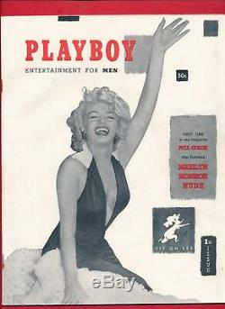 ORIGINAL DECEMBER 1953 PLAYBOY FINE+ COND rare 3rd page issue L GIFT 1st issue