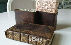 Old & rare prayerbook 1766 in fine gilded binding and with original leather box