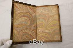 RARE 1847 1st ISSUE THE COMIC HISTORY OF ENGLAND & ROME BOUND BY ZAEHNSDORF FINE