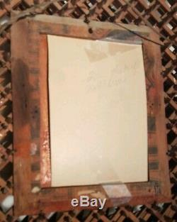 RARE very fine 100+yr old Crown of Thorns Picture Frame 11 x 12 near mint