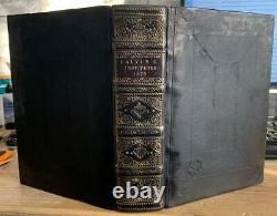 Rare 1574'Calvin's Institutes' FINE BINDING Theology / Christian Reformation