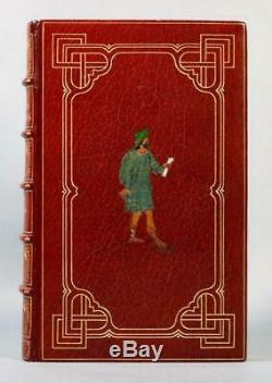 Rare 1811 Pilgrim's Progress Illustrated Fine Inlaid Leather Binding by Riviere