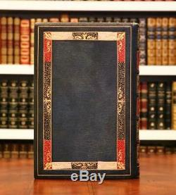 Rare 1925 The Fall of the Empire Napoleon Marie-Louise Cosway Style Fine Leather