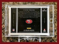 Rare Steve Young 2017 Impeccable 1 Troy Ounce. 999 Fine Silver 7/15 49ers Hof