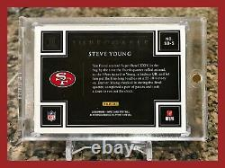 Rare Steve Young 2018 Impeccable 1 Troy Ounce. 999 Fine Silver 5/15 49ers Sbxxiv