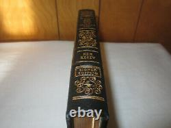 SIGNED Easton Press ONE FLEW OVER THE CUCKOO'S NEST Ken Kesey LEATHER FINE RARE
