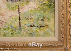 Stunning French Impressionist Landscape Oil Painting by John Clymer, FINE & RARE