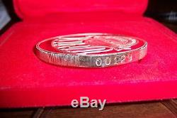 UNLV RUNNING REBELS 1990 CHAMPIONS RARE 5.6 oz. 999 FINE SILVER COIN PROOF