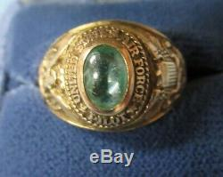 Ultra Rare United States Air Force Officer Pilot Ring 10k Gold Balfour Htf