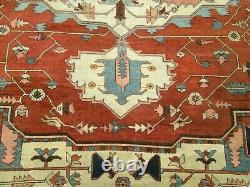VERY FINE ANTIQUE ORIENTAL RUG With IVORY MEDALLION RARE 10 x 12