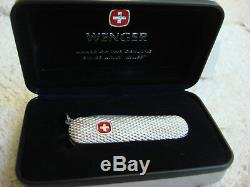 Wenger / Victorinox Sterling Silver Rare Esquire Knife Fine High Class Gift