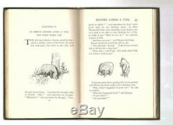 Winnie The Pooh 1926 RARE 1st Edition, 1st Printing in Very Fine Condition